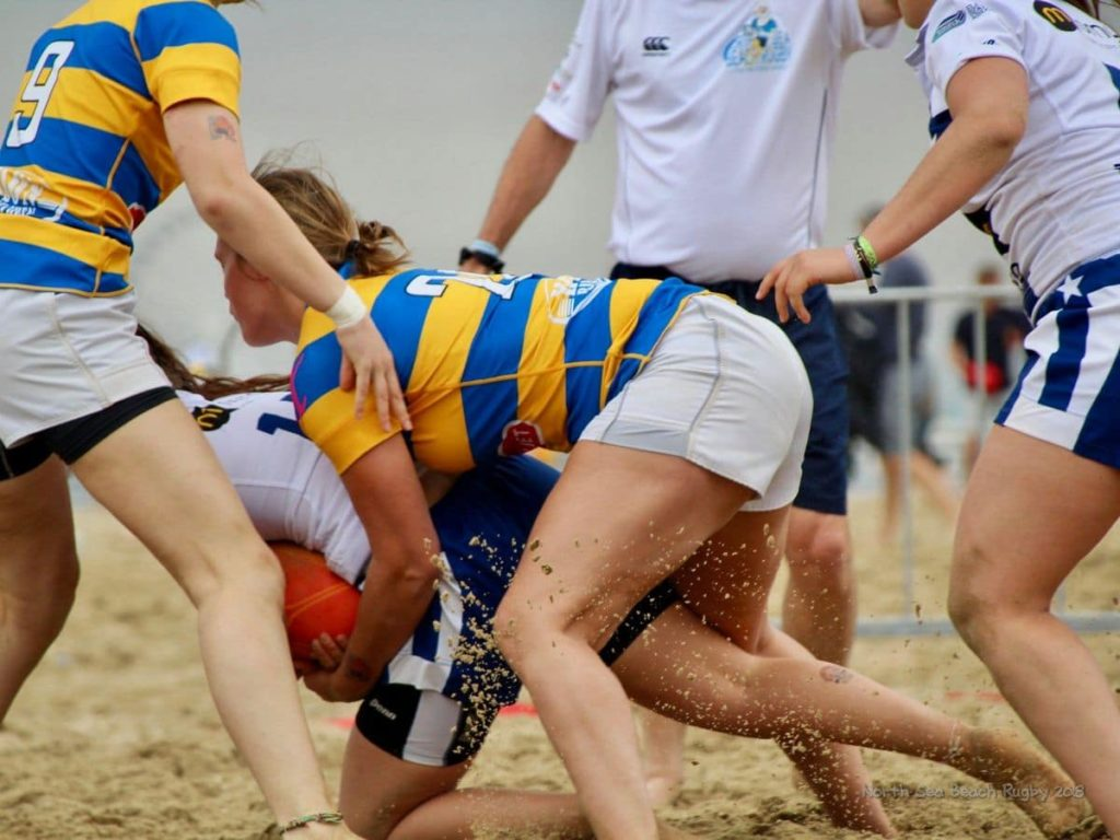 BEACHRUGBY BEACH RUGBY NORTH SEA